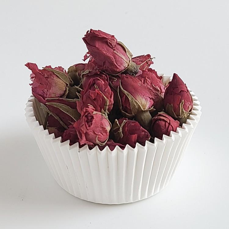 Сушеные бутоны чайной розы 25 гр