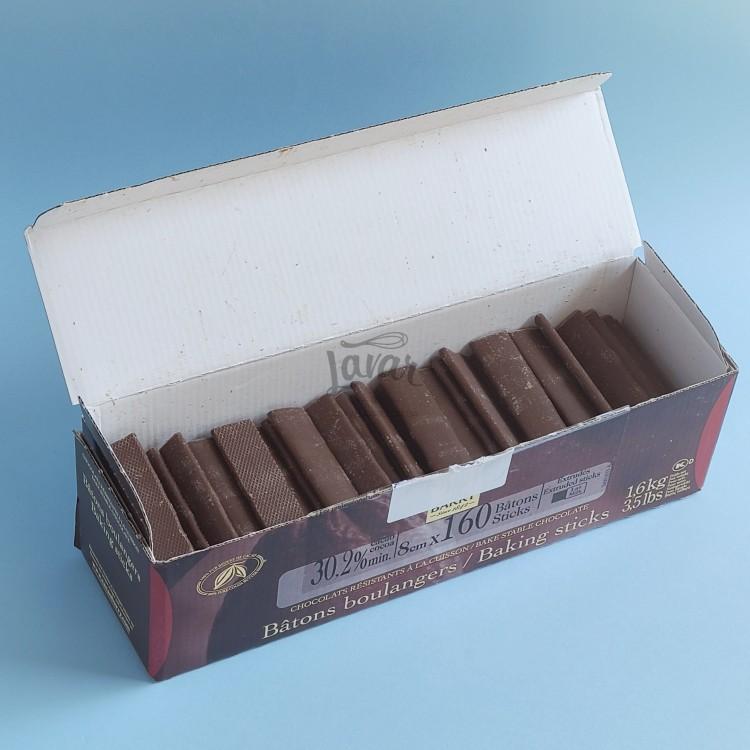 Шоколадные палочки (молочный шоколад) Callebaut 100 гр (развес)