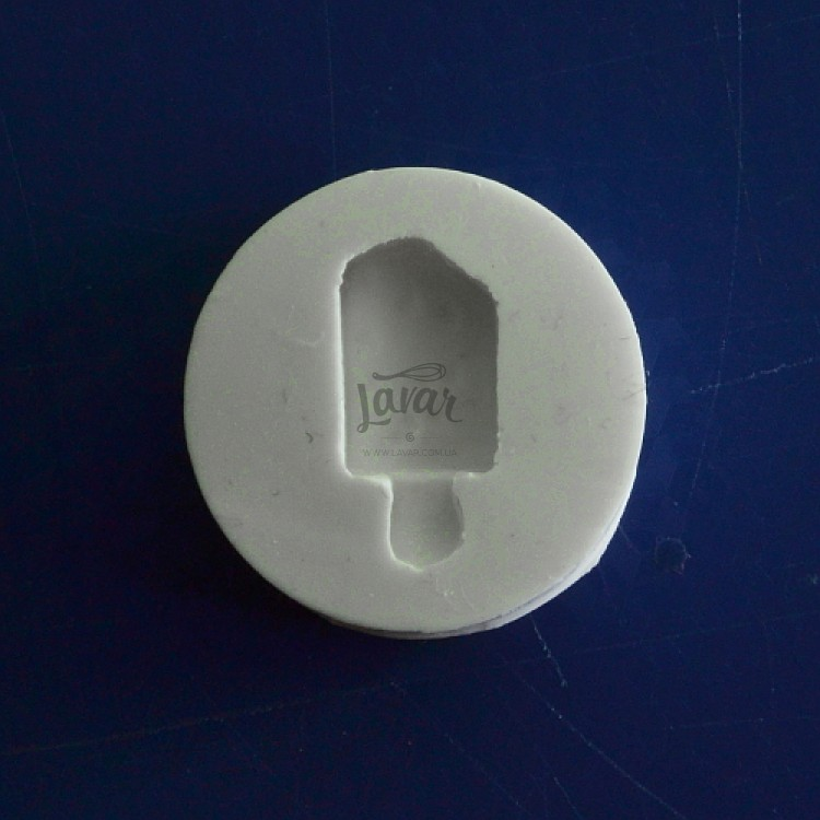 Силиконовый молд Мороженое на палочке 3.0х3.0 см