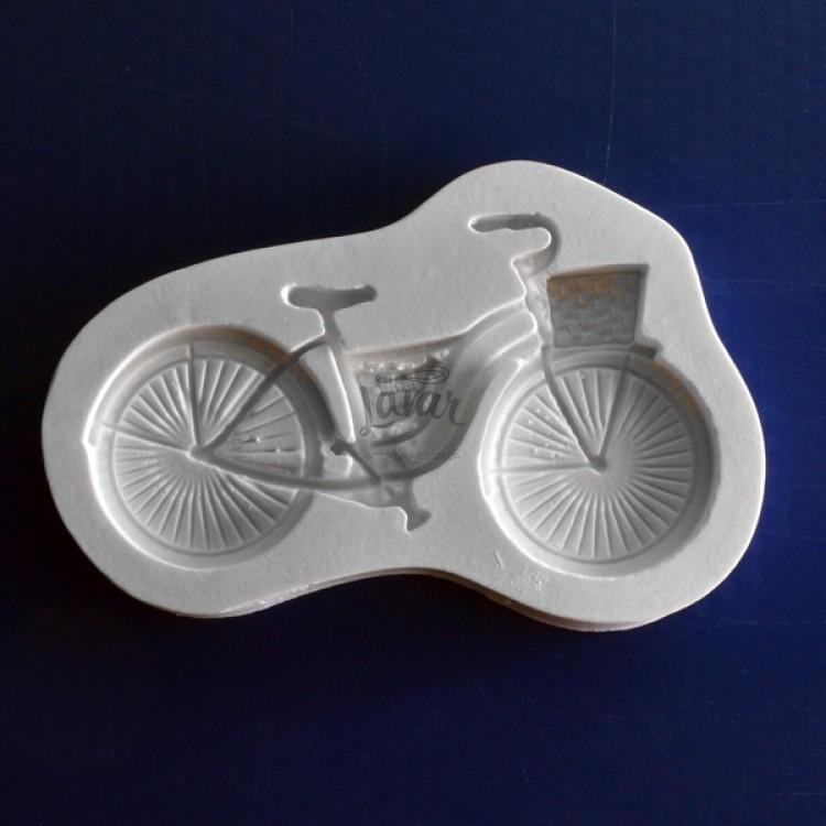 Силиконовый молд Велосипед 9.0х6.0 см