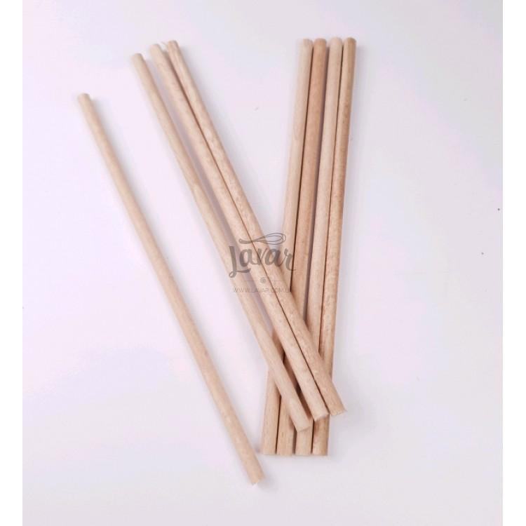 Деревянные шпажки (оси) для торта 45х1 см - 1 шт