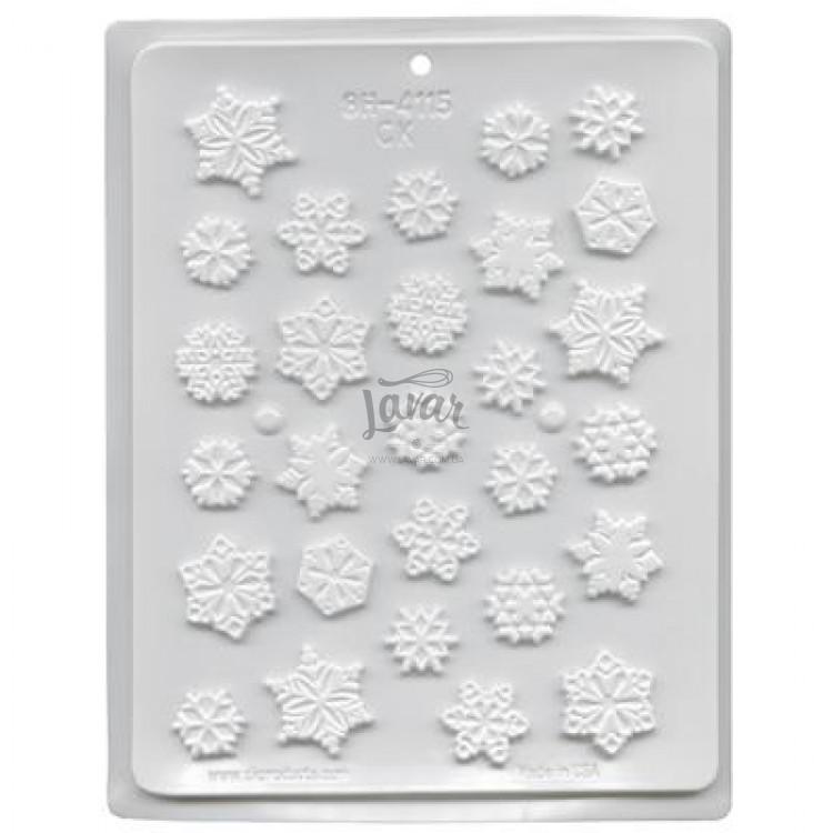 Молд для карамелі сніжинки