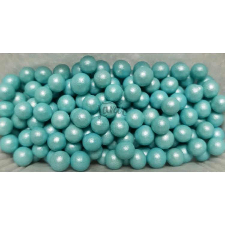 Драже сахарное голубой жемчуг 5 мм 50 гр