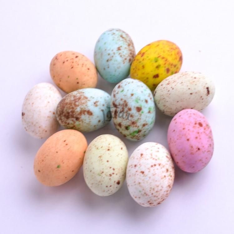 Шоколадные перепелиные яйца - 10 шт