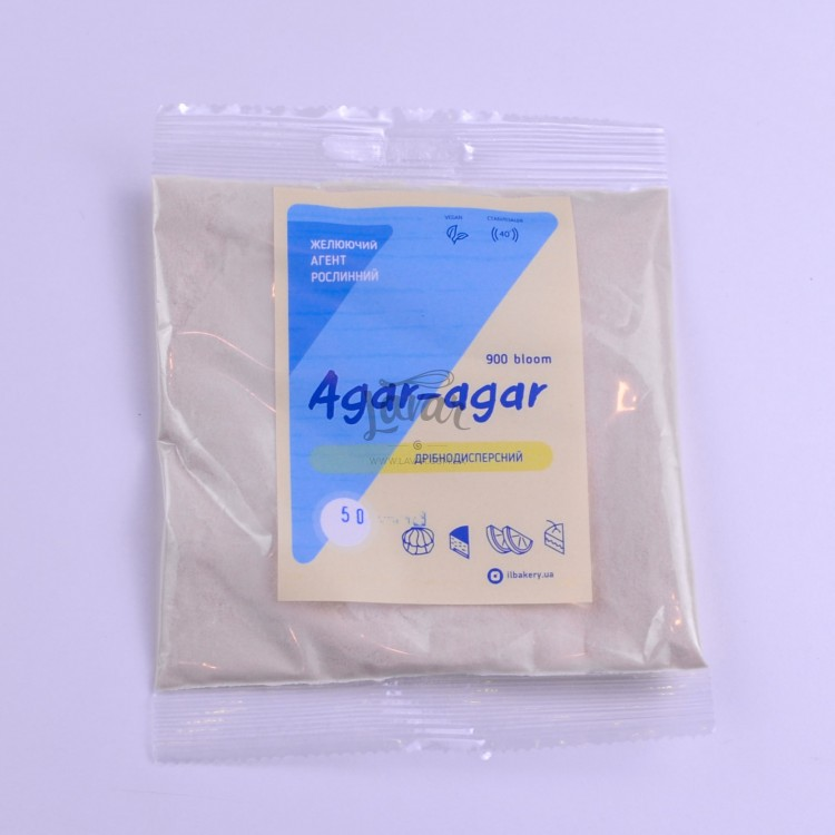 Агар-агар 900 мелкодисперсный ILBakery 900 - 100 гр
